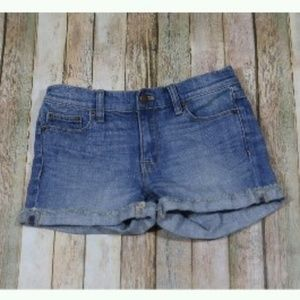 J. Crew Cutoff Denim Shorts Light Wash B8845